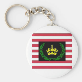 American Monarchist Party Logo Keychain