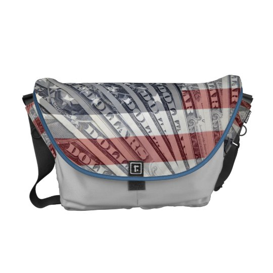 American Money Messenger Bag