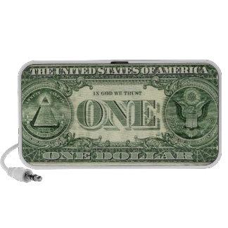 American money one Doodle Mini Speakers
