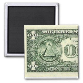 American money one Magnet