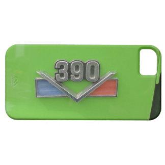 """AMERICAN MOTORS """"390"""" LOGOTIPO EN EL COCHE VERDE iPhone 5 CARCASAS"""
