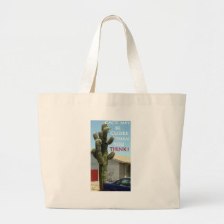 AMERICAN MOTORS JAVELIN AND GRAMLIN AND CACTI LARGE TOTE BAG