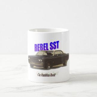 American Motors:  Rebel SST Classic White Coffee Mug