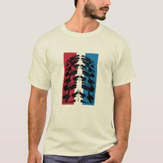 American Mountain Bike Tire T-Shirt