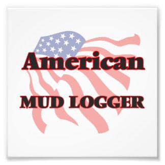 American Mud Logger Photo Print