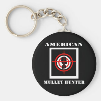 American Mullet Hunter Keychain
