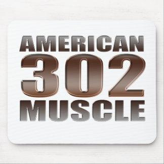 american muscle 302 mousepads