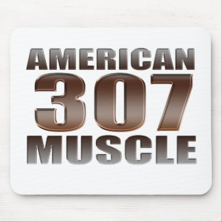 american muscle 307 mouse pad
