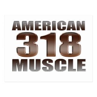 american muscle 318 postcard