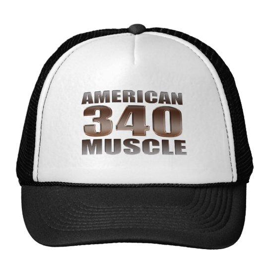 american muscle 340 trucker hat