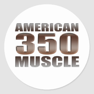 american muscle 350 stickers