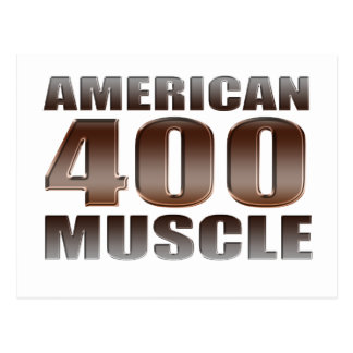 american muscle 400 postcard