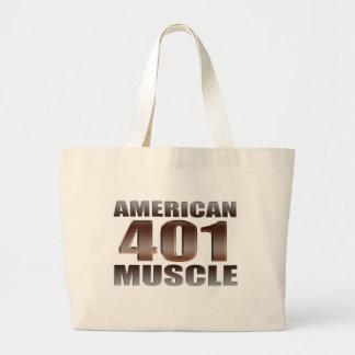 american muscle 401 nailhead canvas bags