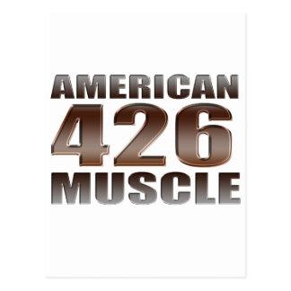 american muscle 426 Hemi Postcard
