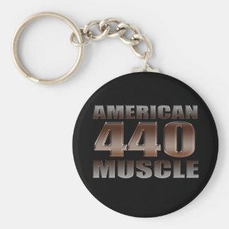 american muscle 440 mopar keychain