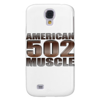 american muscle 502 chevy big block crate motor galaxy s4 cases
