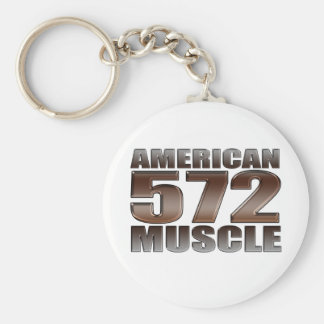american muscle 572 Big Block crate motor Keychain