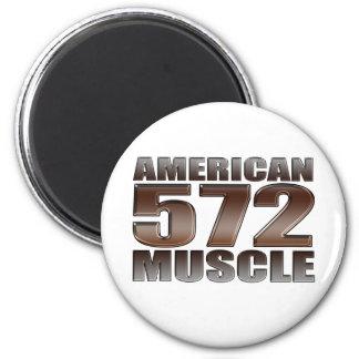 american muscle 572 Big Block crate motor Magnet