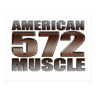american muscle 572 Big Block crate motor Post Card