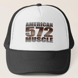 american muscle 572 Big Block crate motor Trucker Hat