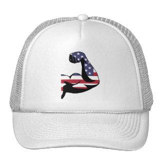 American Muscle Biceps Mesh Hat