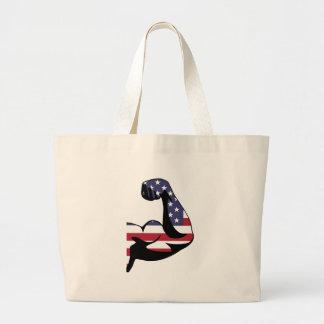 American Muscle Biceps Silhouette Bag