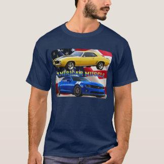 American Muscle Camaro Flag Shirt