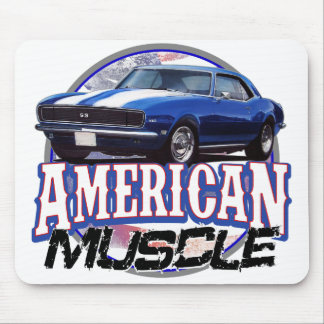 American Muscle Camaro Mouse Pad
