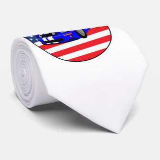 American Muscle Car design neck ties