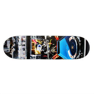 American Muscle Car Engine Skateboard