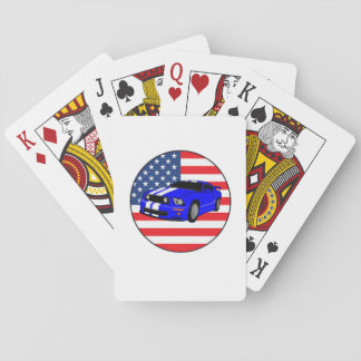 American Muscle Car Playing Cards