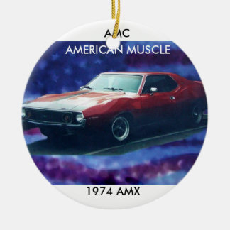 AMERICAN MUSCLE CARS HOLIDAY ORNAMENT