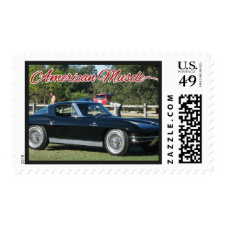American Muscle Cars Postage Stamp