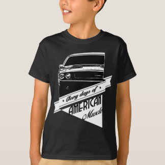 American Muscle Glory Days 1970 Dodge Challenger T-Shirt