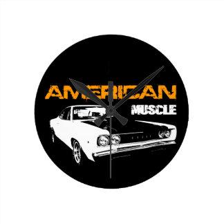 American Muscle - Mopar Dodge Coronet de Bee Super Relojes De Pared
