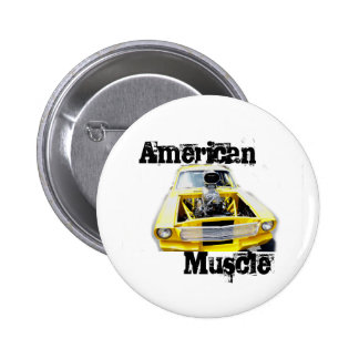 American Muscle Pin