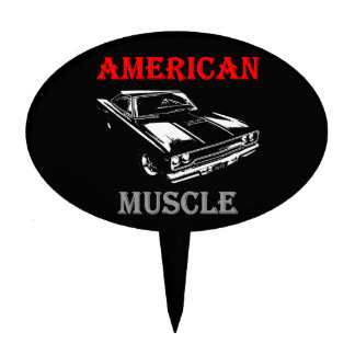 American Muscle - Plymouth Road Runner Cake Topper