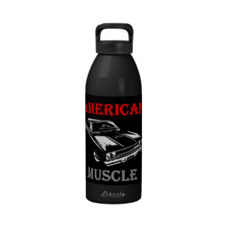 American Muscle - Plymouth Road Runner Water Bottle