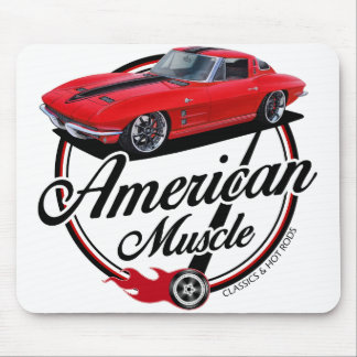 American Muscle Stingray Mouse Pad