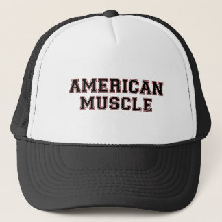 American Muscle Trucker Hat