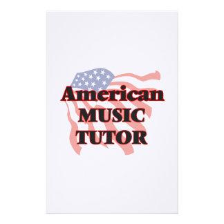 American Music Tutor Stationery