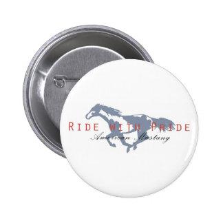 American Mustang Pins