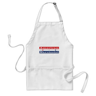 American narcissist (stars and stripes) adult apron