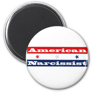 American narcissist (stars and stripes) magnet