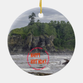 American National Parks Photography Ceramic Ornament