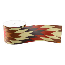 american native traditional ethnic costume motif grosgrain ribbon
