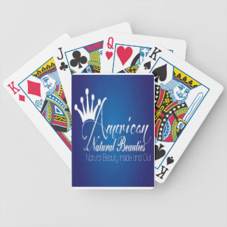 American Natural Beauties Bicycle Playing Cards