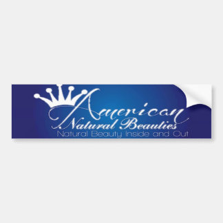 American Natural Beauties Bumper Sticker