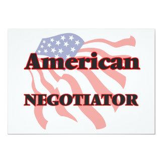 American Negotiator 5x7 Paper Invitation Card