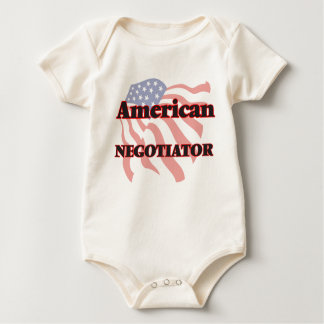 American Negotiator Rompers